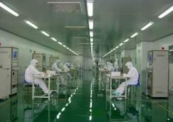 电子产品生产车间